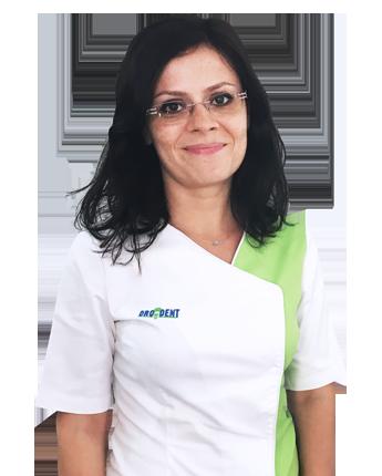 Daniela Gherghe, recepționista ORODENT